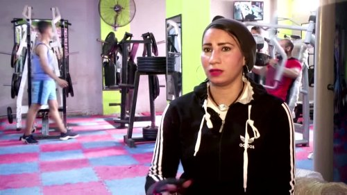 'Just like a man': Woman trains Egyptian boxers
