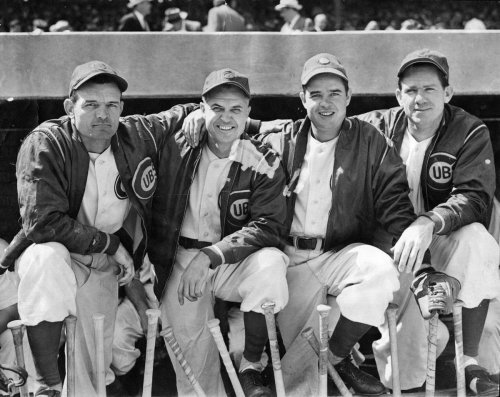 Vintage Chicago sports photos