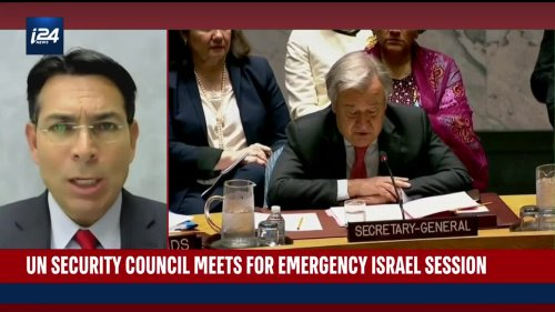 UN Security Council meeting for emergency Israel session