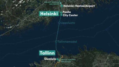 Undersea rail tunnel aims to transform Helsinki and Tallinn into one metropolitan area