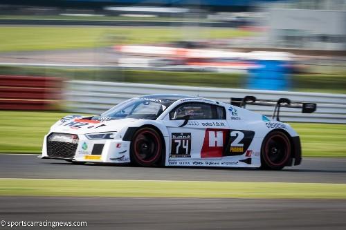 Audi R8 LMS Blancpain GT Series Silverstone