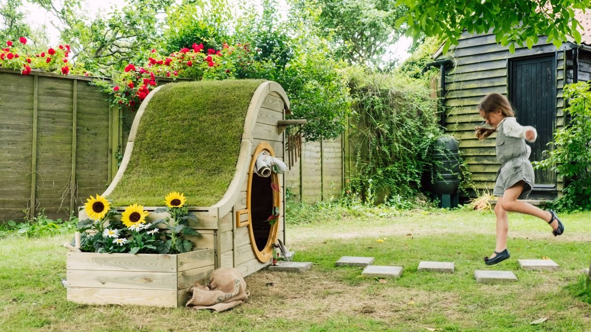This is how to create a child-friendly garden