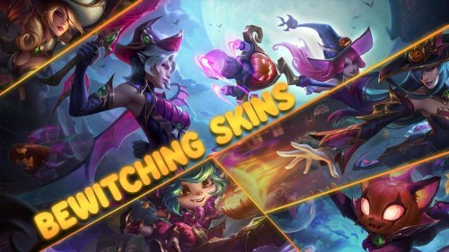 Halloween is coming to League of Legends with new Bewitching skins
