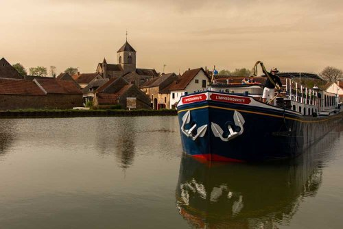 What It's Like to Travel on a French Canal Barge