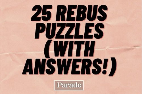 25 Fun Rebus Puzzles