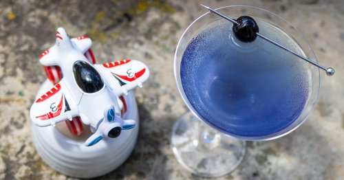 Blast Off the Weekend with an Aviation Cocktail