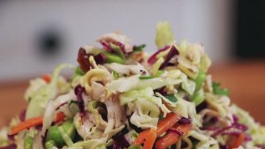 Healthy Eating Made Easy with This Ramen Noodle Chicken Salad