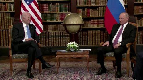Putin and Biden face-to-face in Geneva