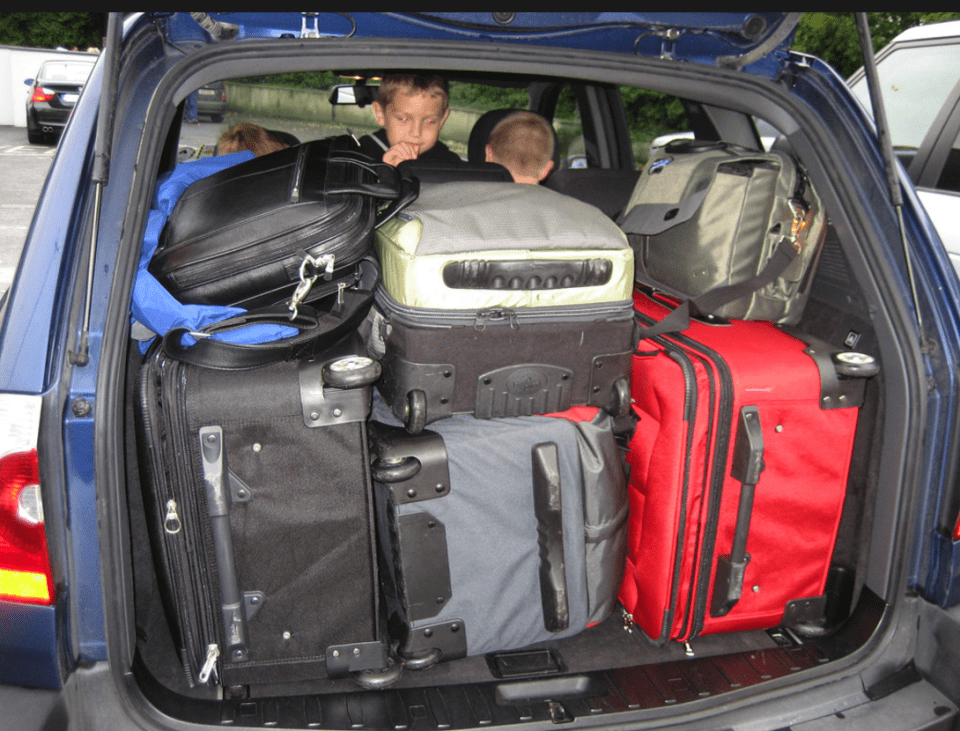 ARE YOU A NOTORIOUS OVER-PACKER?