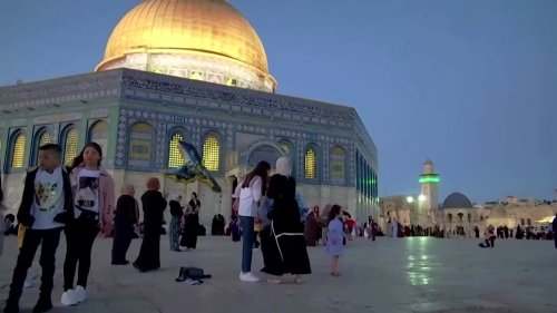 Palestinians celebrate Eid amid Israel-Gaza conflict