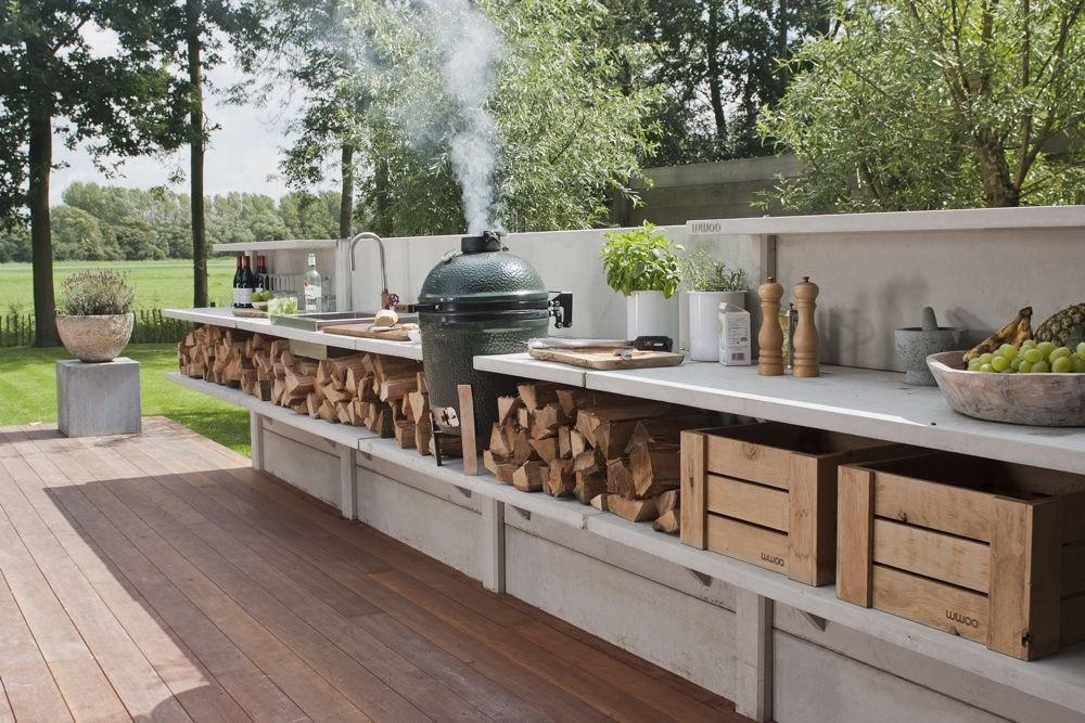Outdoor kitchens are 2021's biggest trend. Here's how to do it right