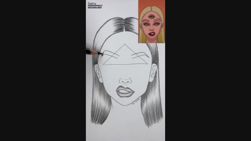 Talented artist shares drawing tutorial