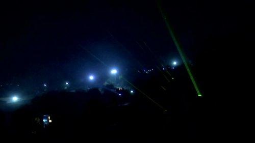 Torches light up battle over Israeli settlement
