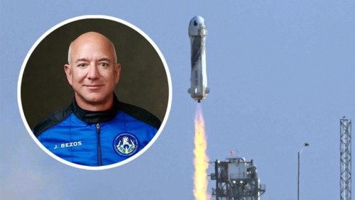 The richest man on Earth successfully went to space.
