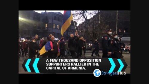 Armenia: opposition marches through Yerevan