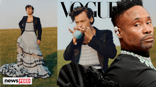 Harry Styles' Vogue Cover SLAMMED By Billy Porter!