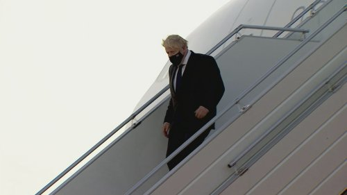 Boris Johnson arrives in NYC for 'crucial' UN summit