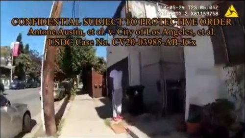 Video shows LAPD arresting Black man while looking for white suspect