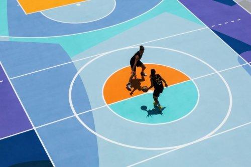 I migliori graffiti artwork sui basket palyground