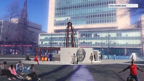 Newark to erect statue honoring Harriet Tubman where Christopher Columbus statue once stood
