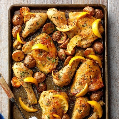 Simple Sheet Pan Dinners