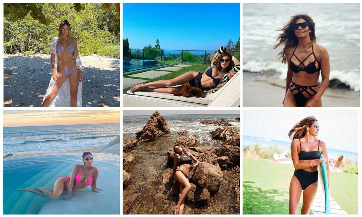 Get bikini inspiration from the top celebrities!