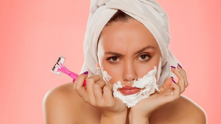 Is shaving your body hair with a razor really harmful?