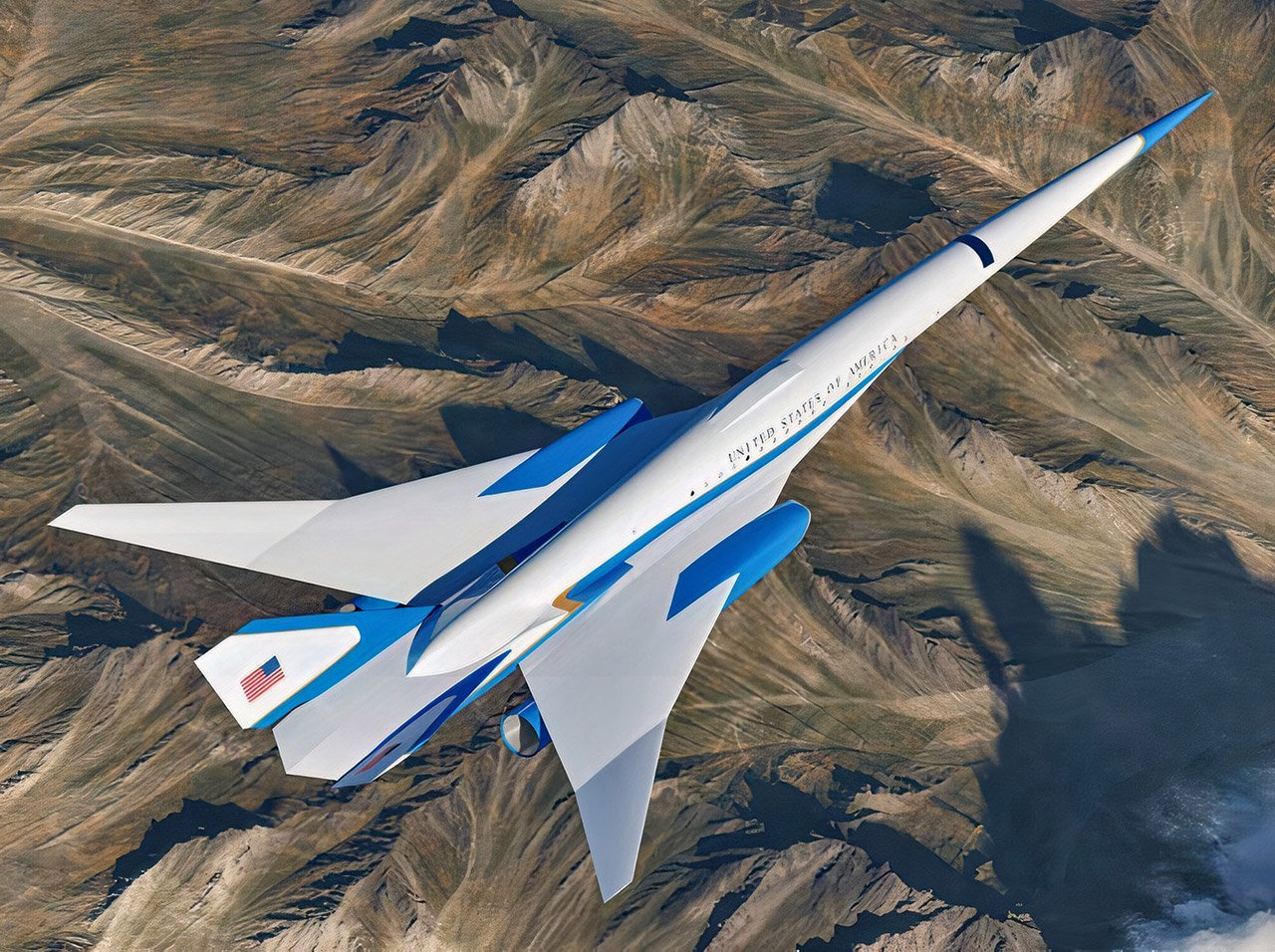 Here's How Air Force One Could Go Supersonic