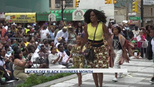 Annual fashion show from Nigerian designer Moshood kicks off Black Business Month