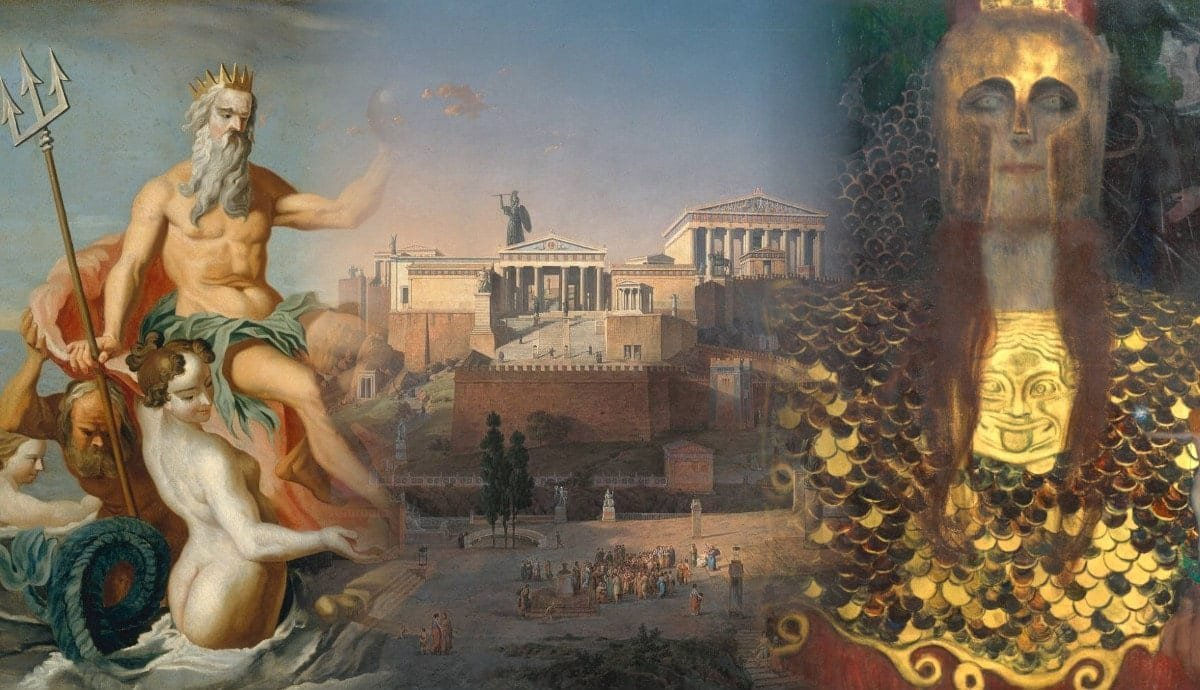 How Did Athens Get Its Name?