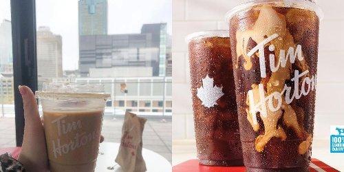 Tim Hortons a sorti un nouveau café « Cold Brew » et voici notre opinion