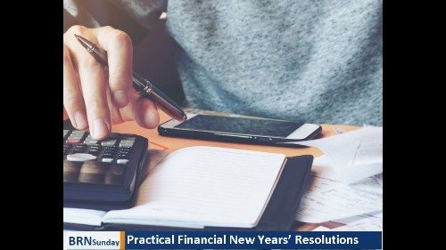ICYMI: Practical Financial New Years Resolutions