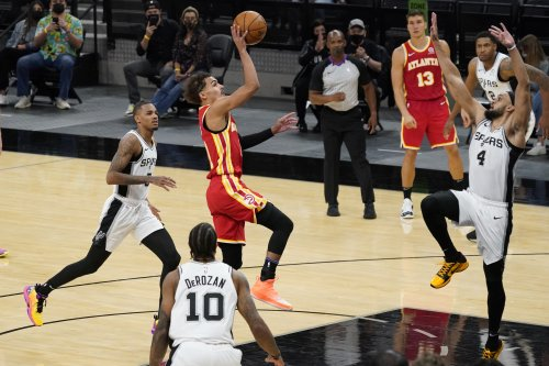 NBA roundup: Trae Young, Hawks outlast Spurs in 2OT