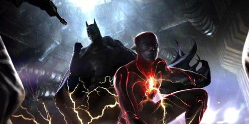 New 'The Flash' Set Photo Teases a Brutal Battle for Michael Keaton's Batman