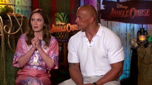 Blunt, Johnson navigate tricky 'Jungle Cruise' debut