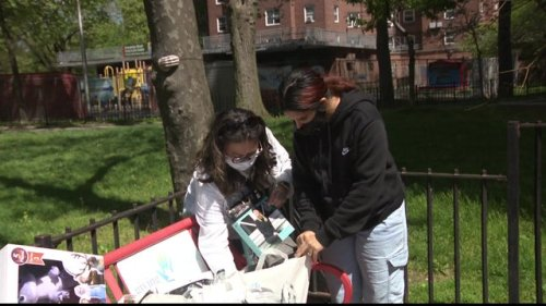 Mother and family displaced by explosion receive special gifts for Mother's Day