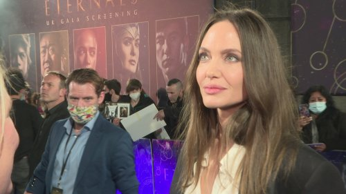 """ETERNALS: Angelina Jolie - """"Life Is Not Fun To Live Alone"""""""