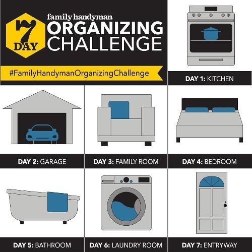 Try Our Organization Challenge!