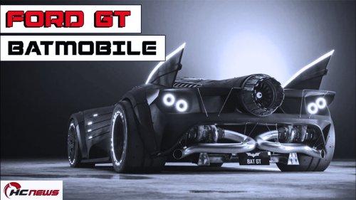 What If Batman Drove A Ford GT? T