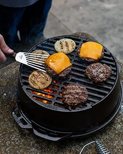 Lodge cast-iron grill