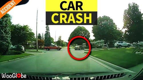 Dashcam Footage Shows Shocking Car Crash in London, Ontario