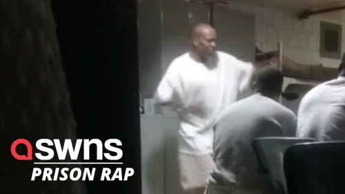 EXCLUSIVE video shows late rapper DMX rapping for inmates inside prison (RAW)