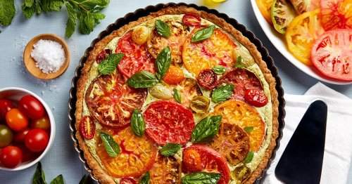 A Tomato Ricotta Tart That's As Tasty As It Is Pretty