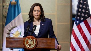 Harris message to migrants: 'Do not come, do not come'