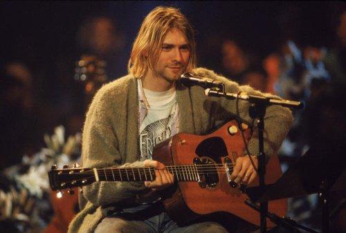 Kurt Cobain's funny self-portrait just sold for six figures