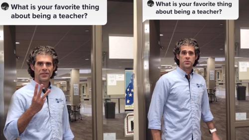 'Minnesota teacher names his three favorite things about his job *EPIC RESPONSE*'