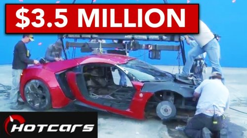 Fast & Furious: 10 Most Expensive Cars That Were Totalled