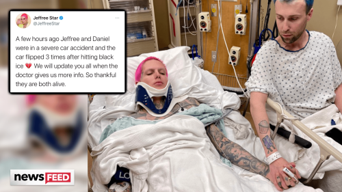 Jeffree Star Hospitalized After Car FLIPPED Three Times!