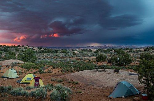 10 Most Scenic Camping Sites In The United States