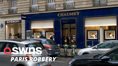 Almost 2 million euros worth of goods stolen after man robs iconic Paris jeweller using electric scooter as getaway